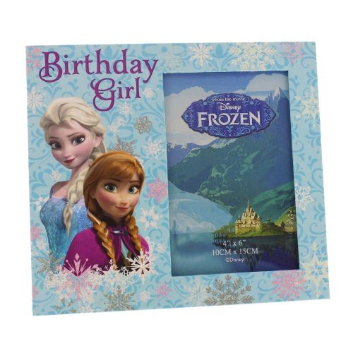 Disney Frozen Birthday Girl Photo Frame 6x4